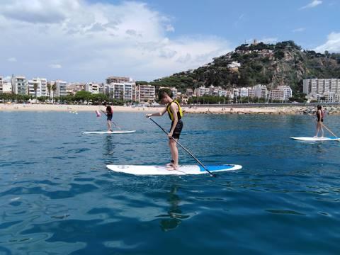 Actividades acuáticas en la Costa Brava